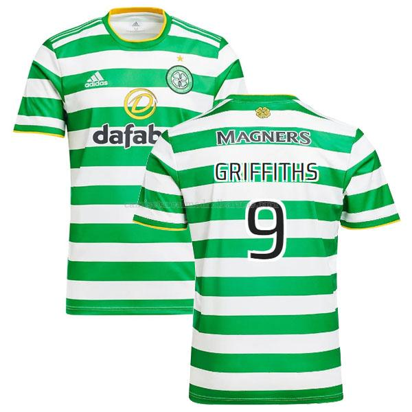 camiseta griffiths del celtic del primera 2020-2021