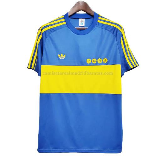 camiseta retro boca juniors primera 1981-1982