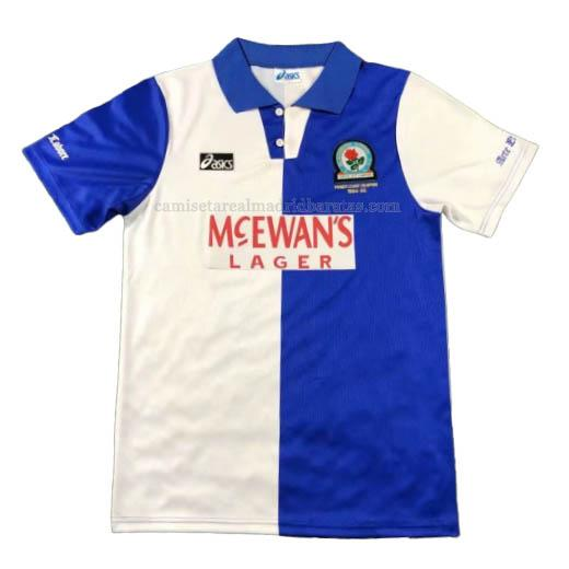 camiseta retro del blackburn rovers del primera 1994-95