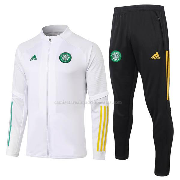 chaqueta celtic blanco 2020-2021