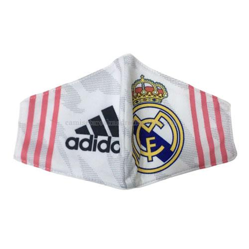 máscaras faciales real madrid blanco 2020-2021