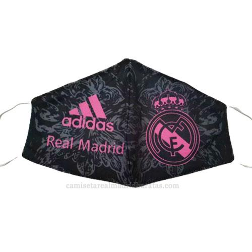 máscaras faciales real madrid negro 2020-2021