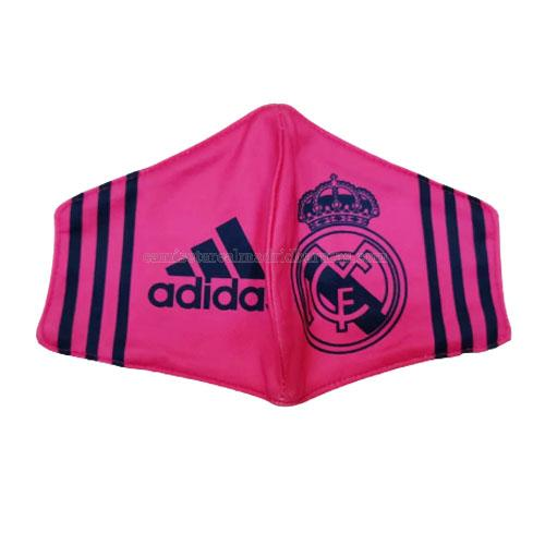 máscaras faciales real madrid rosado 2020-2021